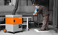 Mobile welding fume extraction systems