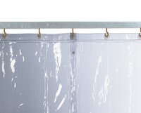 Protection Curtain, Clear