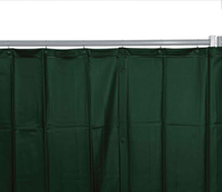 Welding Protection Curtain, Dark Green