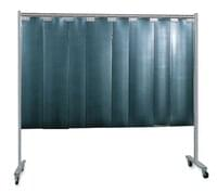 1-Panel Mobile Protective Screen With Strip ...